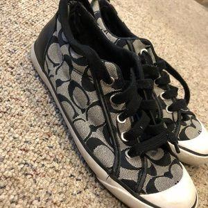 Size 8.5 Women's Coach Sneakers